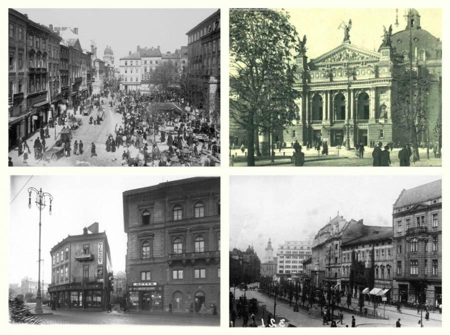 Як це було колись: раритетні фотографії Львова