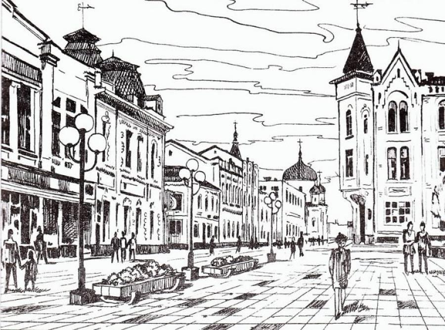 Історія пішохідної вулиці Михайлівської в Житомирі + фотогалерея