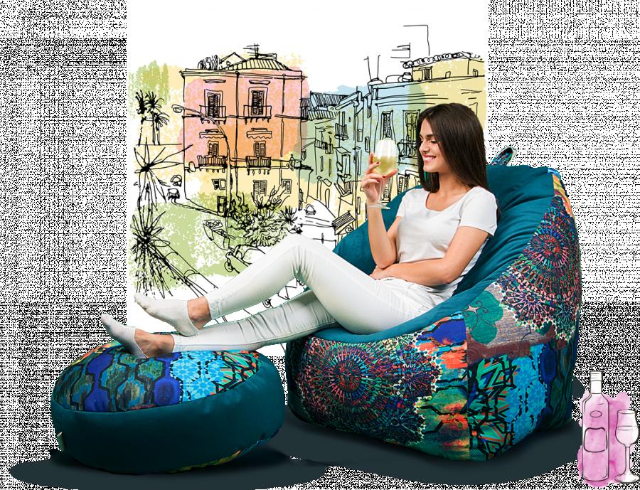 Як влаштовані безкаркасні крісла? (новини компанії)