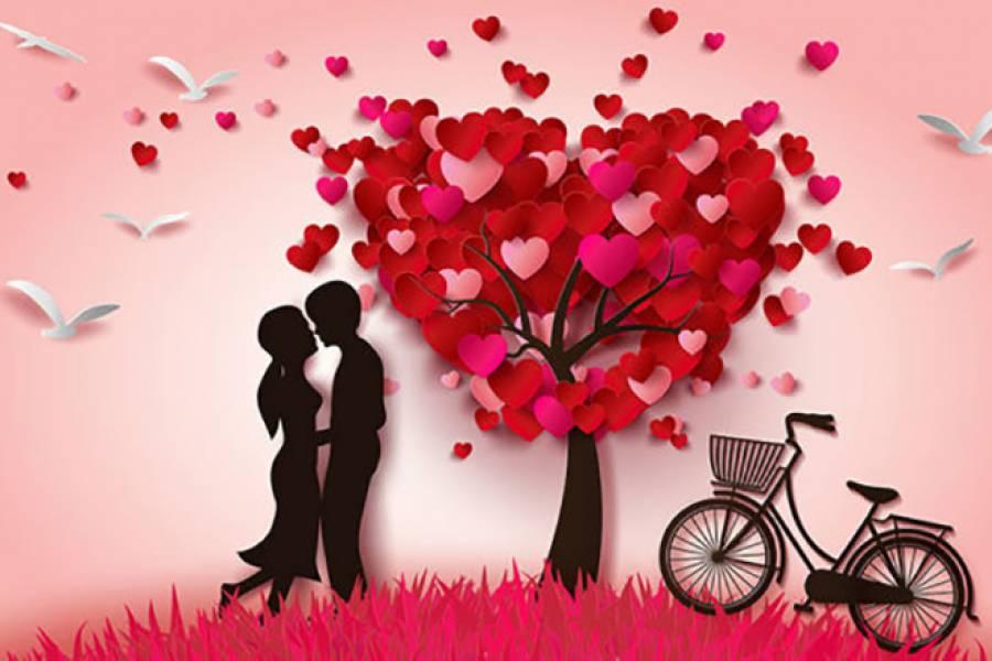 Романтичний тест до Дня Святого Валентина