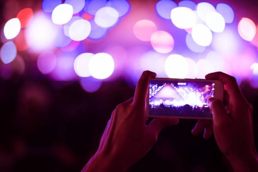 Правильні фото з концерту на телефон