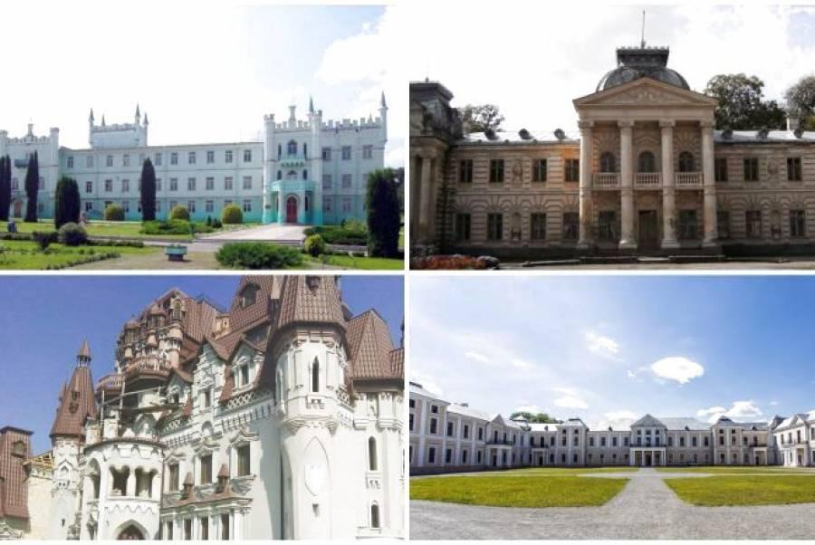 Топ-5 палаців та старовинних маєтків Тернопільщини