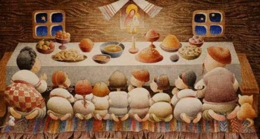 Святвечір в Україні. Традиції. Пісні страви
