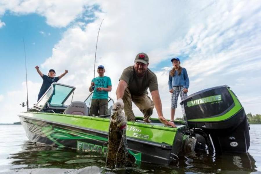 Четыре преимущества лодок для рыбалки отечественного бренда Finval