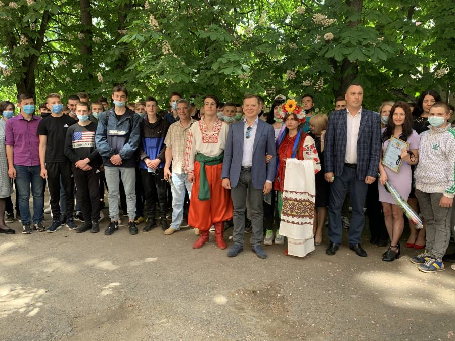 На Кіровоградщину завітав Лідер Радикальної партії Олег Ляшко
