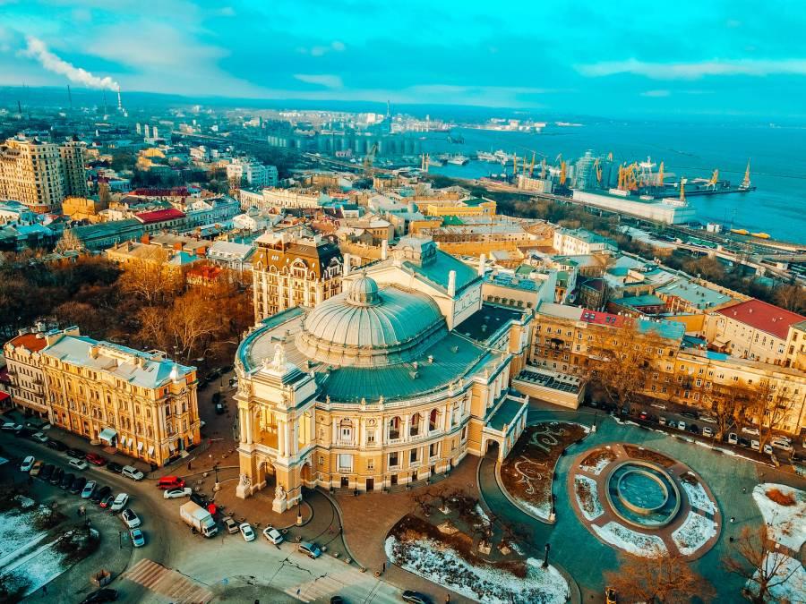 ТОП - 5 необычных мест в Одессе!