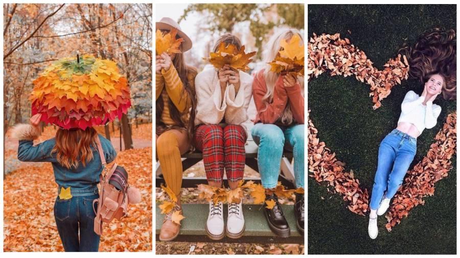ТОП-5 ідей для креативної осінньої фотосесії