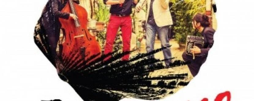 Концерт французького джаз-квартету Tango Carbón в Маріїнському парку