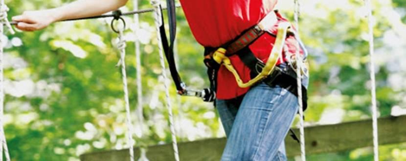 Відпочинок у мотузковому парку «Лазалка-Гідропарк»