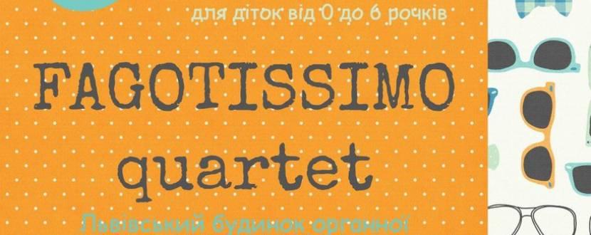 Концерт квартету фаготистів Fagotissimo
