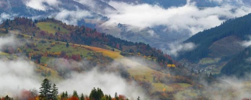 Золотая осень в Карпатах