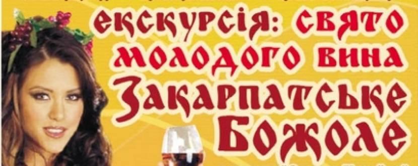 Поездка на фестиваль молодого вина «Закарпатское Божоле»