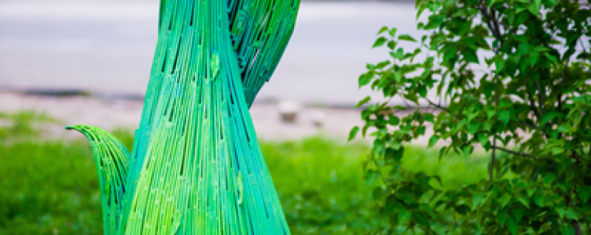 Timotei. Парки великого міста: встановлення паркових скульптур у Києві