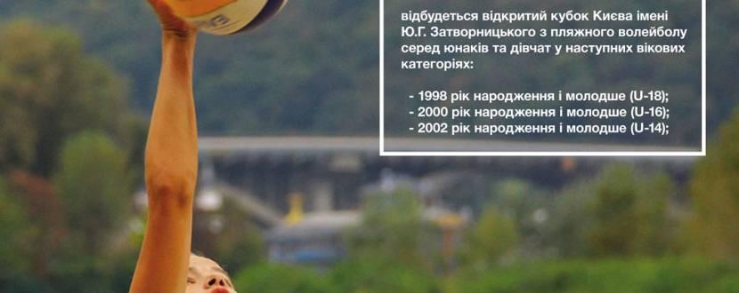 Відкритий кубок імені Ю.Затворницького із пляжного волейболу