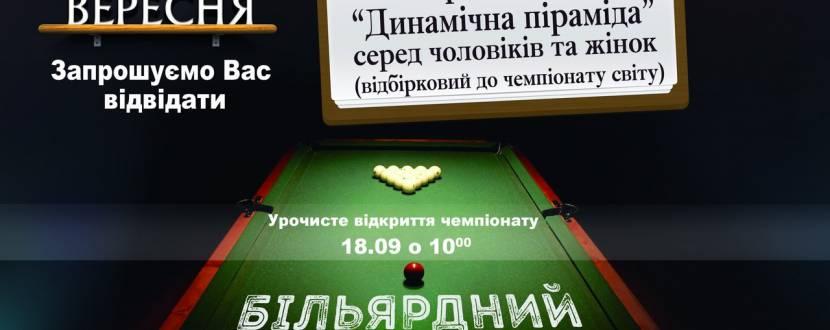 Чемпіонат України із більярдного спорту