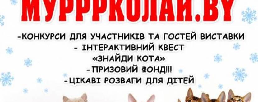 """Виставка котів """"Мурррколай.by"""""""