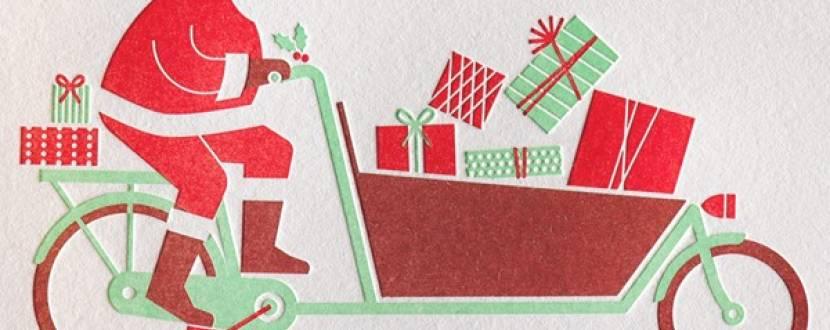"""Велозаїзд """"Санта на велосипеді"""""""