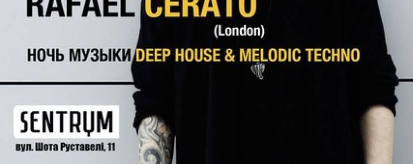 Ніч музики Deep House з DJ Rafael Cerato