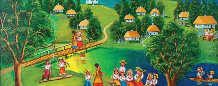 Виставка «Народні традиції в малярстві Михайла Онацька»