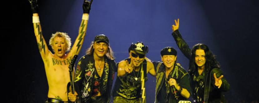 Концерт SCORPIONS 50th Anniversary в Палаці спорту