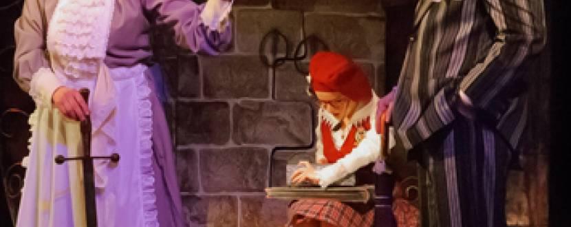 """Дитяча вистава """"Привид Замку Кентервиль"""" в Театрі юного глядача"""