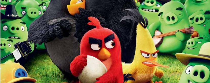 Angry Birds у кіно 3D. Комедійний анімаційний екшн
