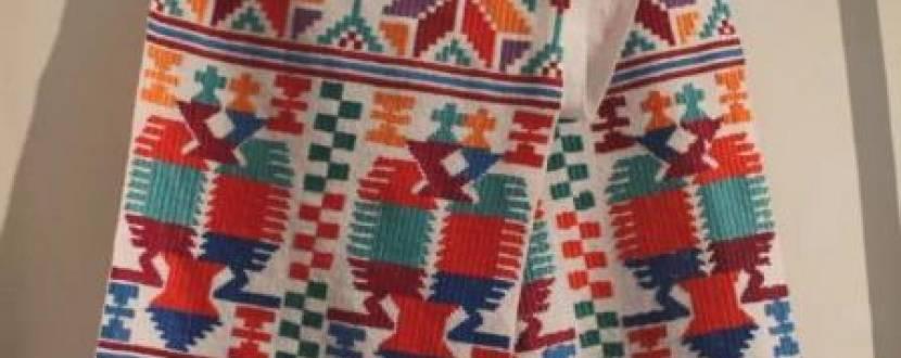 Виставка «Культурний простір Донеччини.  Людмила Огнєва: Українське вишиття»