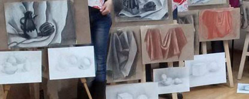 """Літні навчання в студії живопису: курс """"Академічний малюнок"""""""