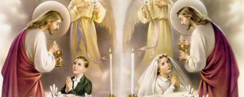 Перша свята сповідь та святе причастя