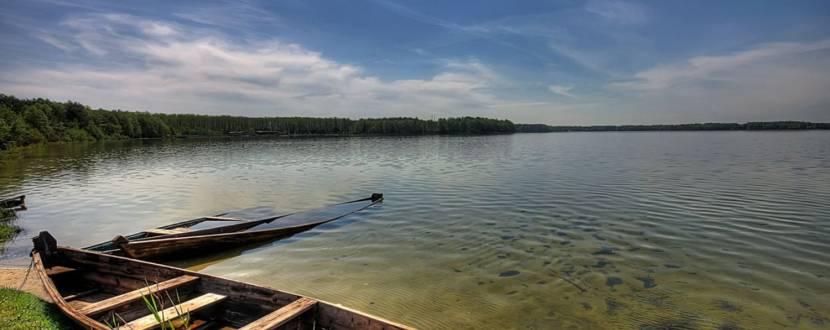 Открытие сезона на озере СВИТЯЗЬ!