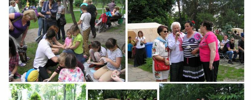Український АРТ-простір: інтерактивні майстер-класи з національної пісні, танцю та розпису в Марііїнському парку