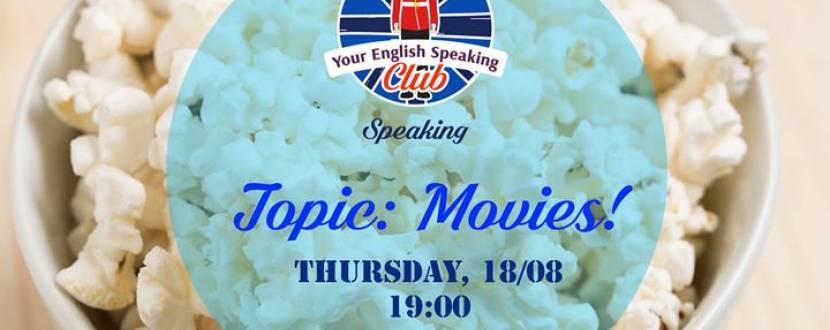 """Підтягуємо англійську: """"Speaking Club. Topic: Movies"""" в """"Миндаль coffee room"""""""