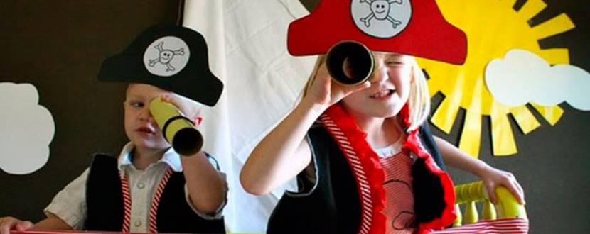 Детская ночная пиратская вечеринка