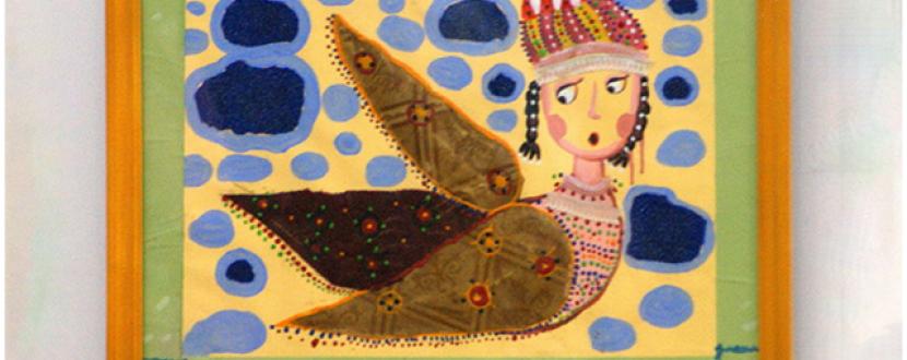 Виставка творів релігійної тематики «Під янгольським крилом»