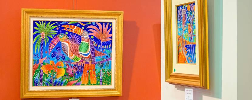 Выставка живописи Юрия Горбачева
