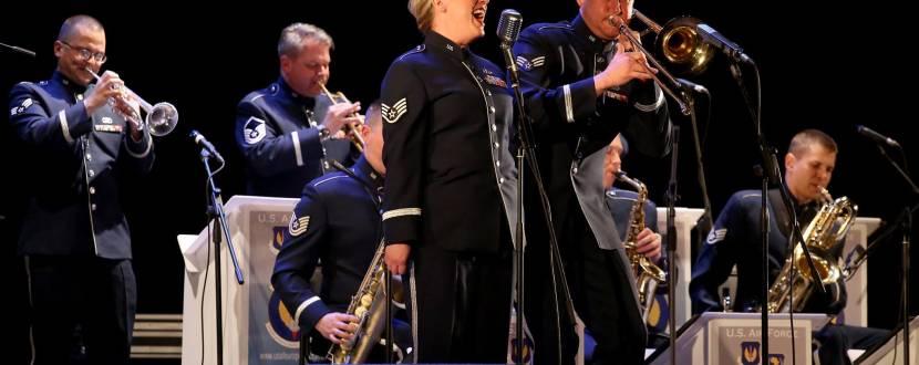 Джаз-бенд оркестра ВВС США в Европе