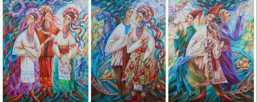 Виставка художниці Мар'яни Сілагіної
