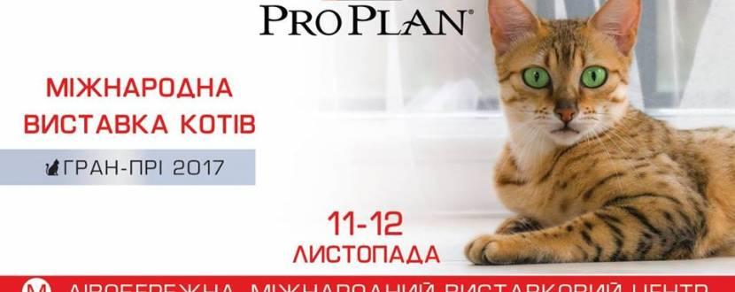 """Виставка котів """"Гран Прі Pro Plan"""""""