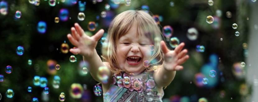 Интерактивное шоу мыльных пузырей