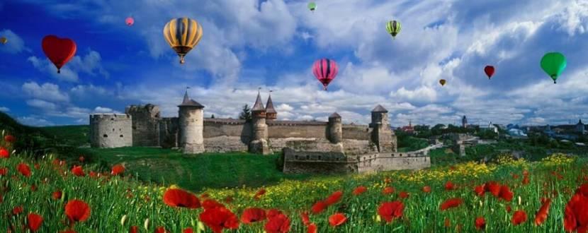 Фестиваль повітряних куль у Кам'янці-Подільському