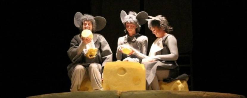 Всі миші люблять сир - вистава для дітей