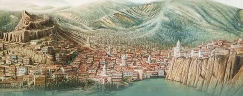 Персональна виставка грузинського художника Давіда Іванішвілі
