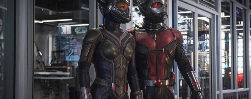 Фантастичний бойовик Людина-мураха та Оса