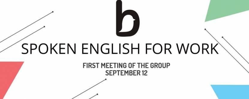 Старт курса Spoken English for work