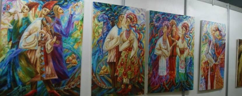 Художня виставка Тетяни Лаврінець