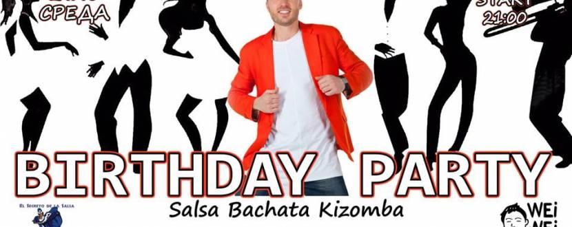 Salsa Birthday party