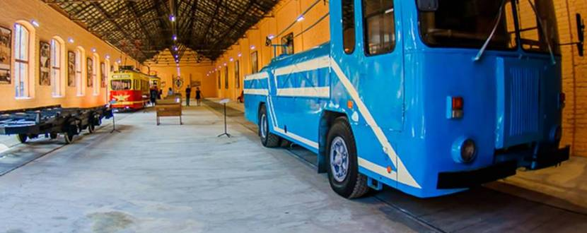 Экскурсия в музей трамваев