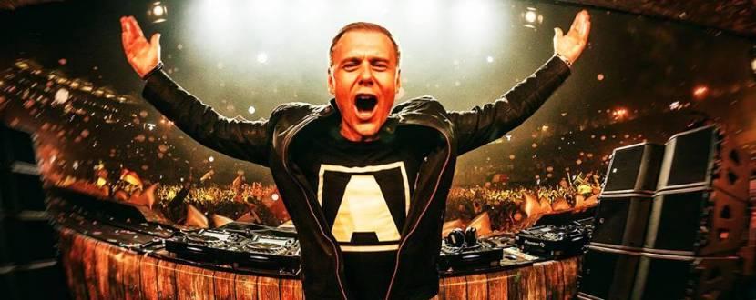 В Киев на концерт Armin Van Buuren