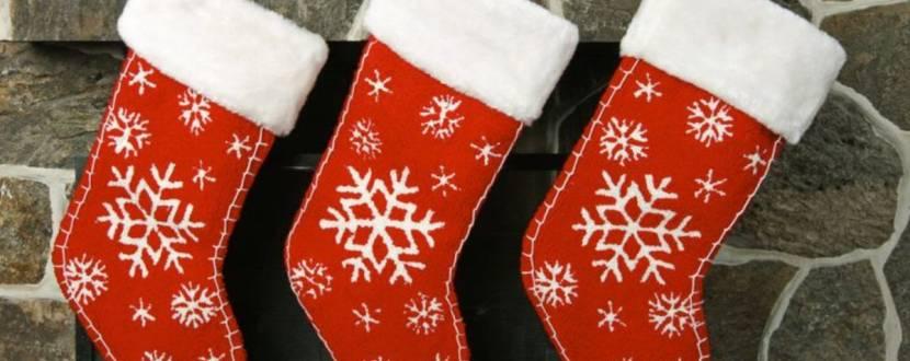Різдвяні шкарпеточки - Майстер-клас