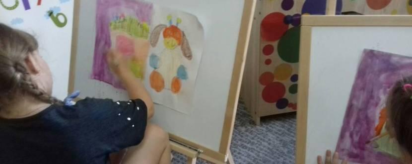 Рисование красками для детей 4-6 лет
